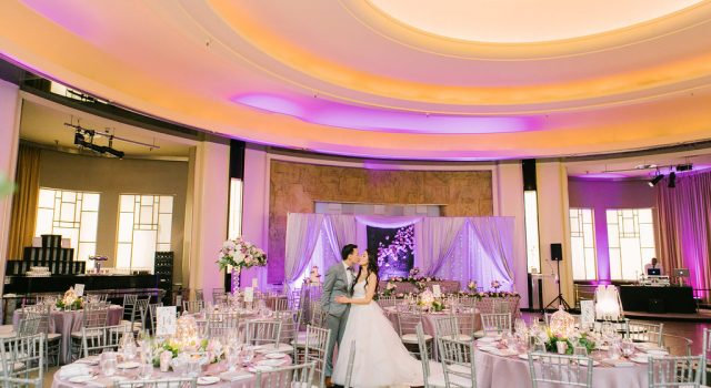 Elegant Lavender Wedding at The Carlu