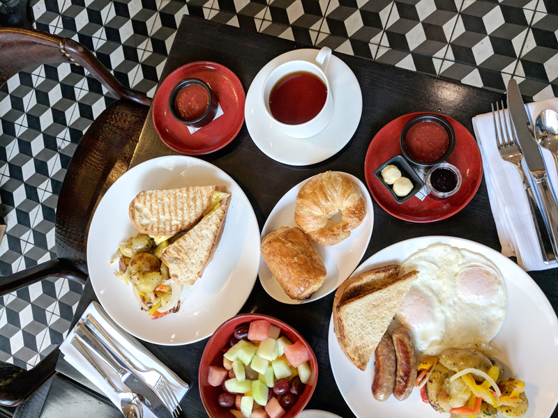 Breakfast at Tratto Restaurant, San Francisco