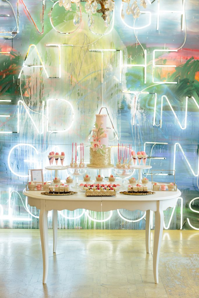 Rebecca Chan Workshop 2018 - Modern Spring-Inspired Lunch Sweets Table