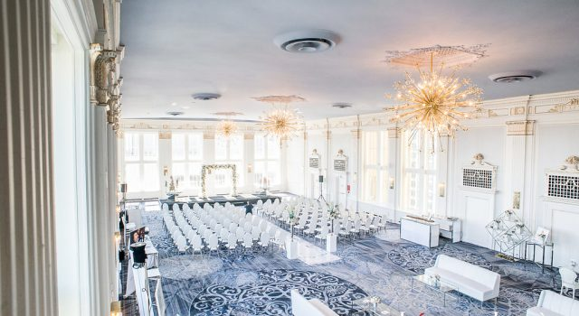 Wedding Academy at the Omni King Edward Hotel Crystal Ballroom - Classic elegance wedding inspiration