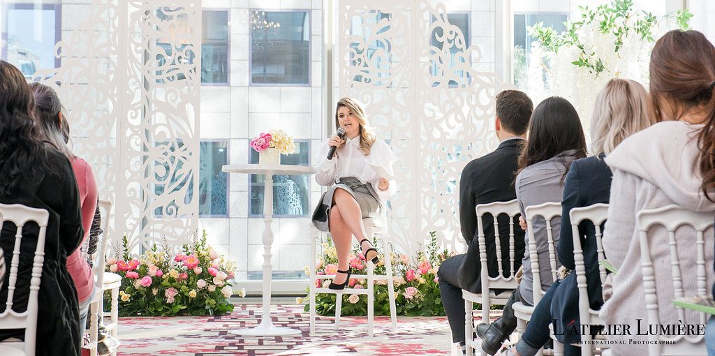 Wedding Academy at Shangri-La Hotel Toronto on February 18 2018 - Jen Evoy Makeup Studio speaker