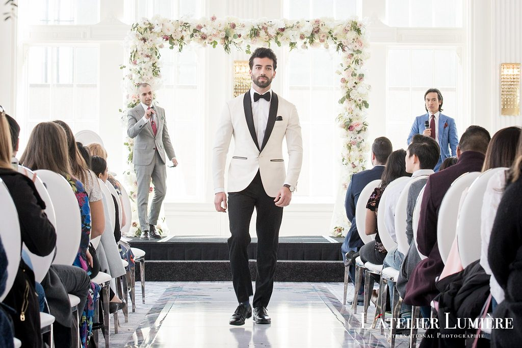 Wedding Academy at the Omni King Edward Hotel - Menswear trends for the wedding day