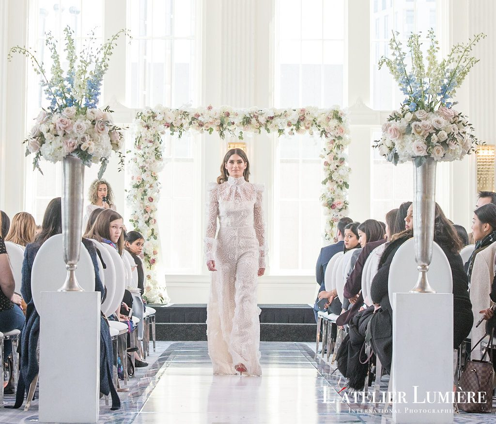 Wedding Academy at the Omni King Edward Hotel - Narces bridal jumpsuit