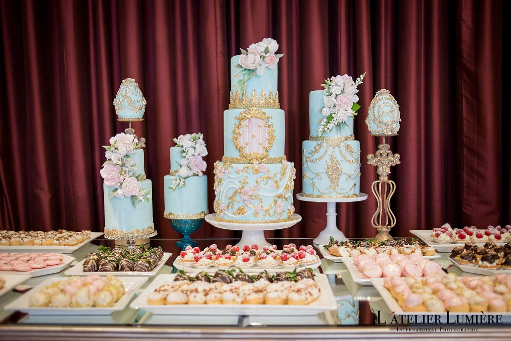 Wedding Academy at Shangri-La Hotel Toronto on February 18 2018 - Sweets table by Fine Cakes by Zehra