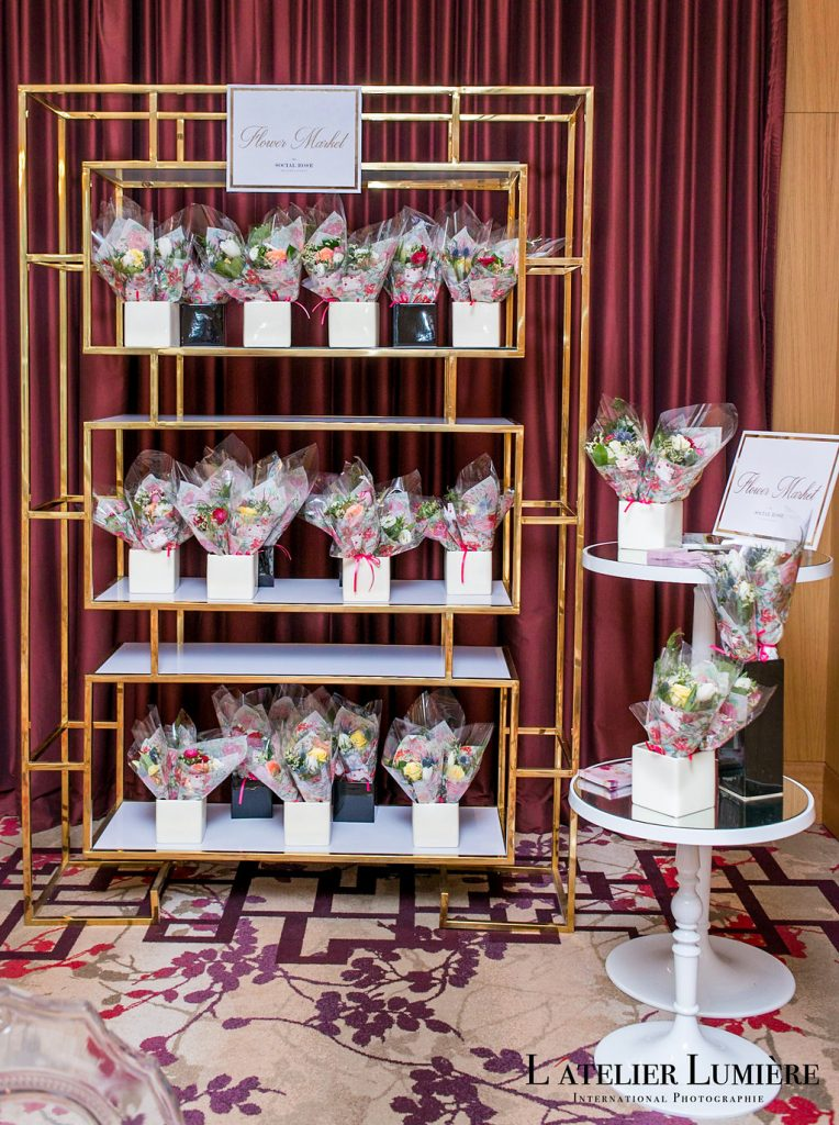 Wedding Academy at Shangri-La Hotel Toronto on February 18 2018 - The Social Rose flower market