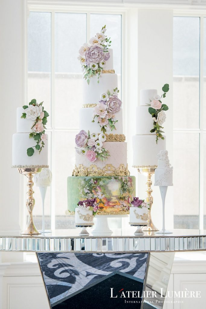 Wedding Academy at the Omni King Edward Hotel - Cake inspiration from Fine Cakes By Zehra