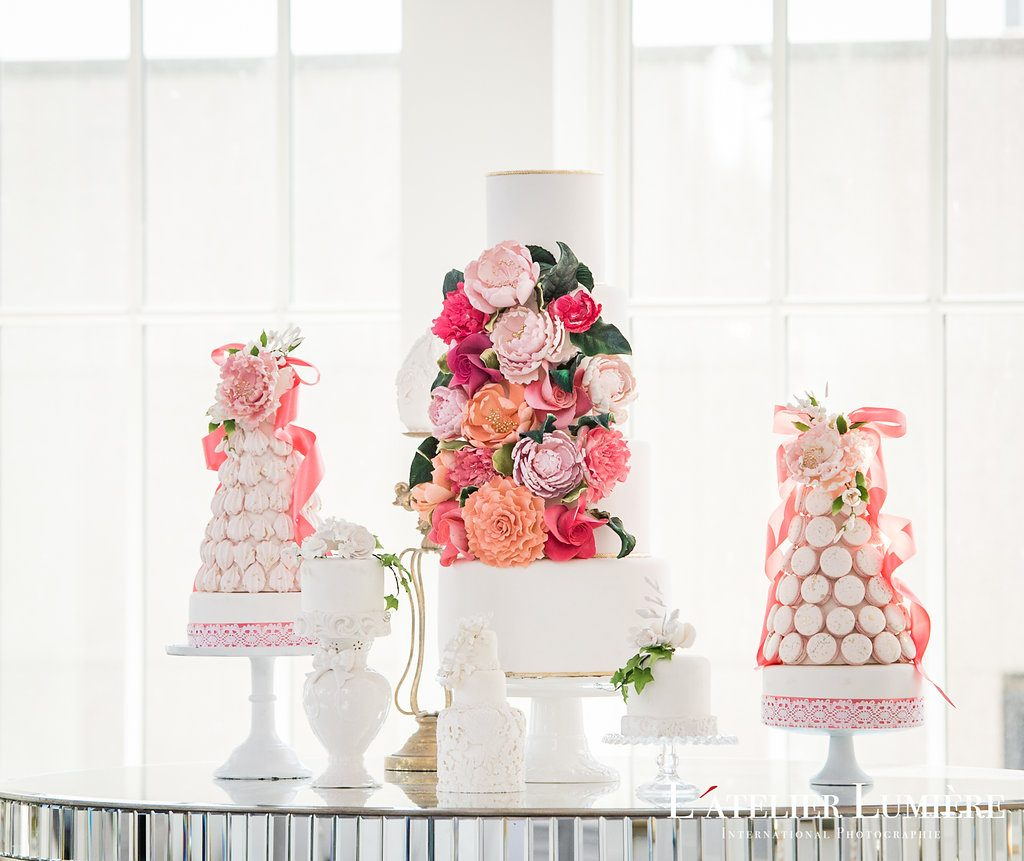 Wedding Academy at the Omni King Edward Hotel - Wedding cake inspiration from Fine Cakes by Zehra