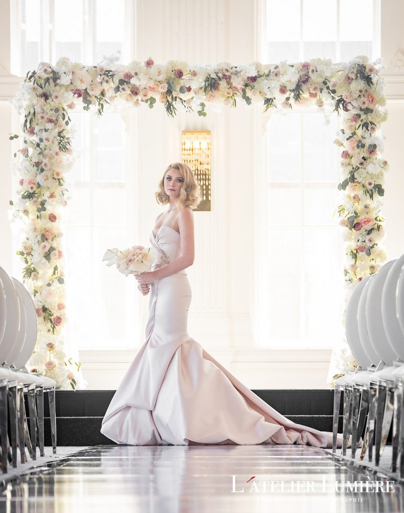 Wedding Academy at the Omni King Edward Hotel - Classic elegance wedding inspiration and Ines Di Santo Whythe dress