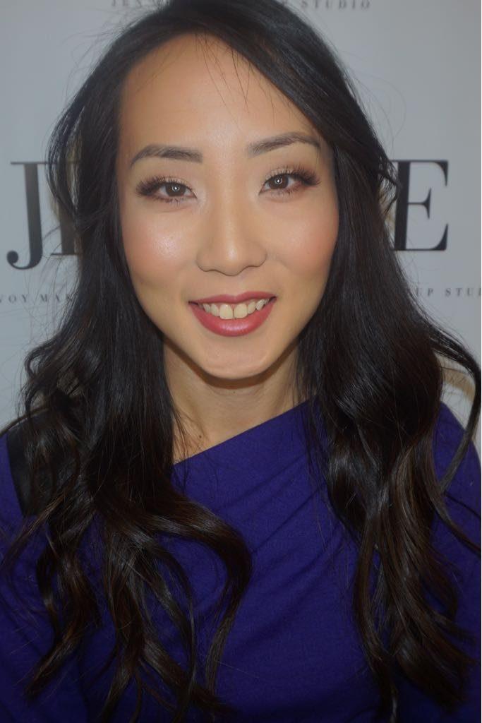 Jen Evoy Makeup Lesson after