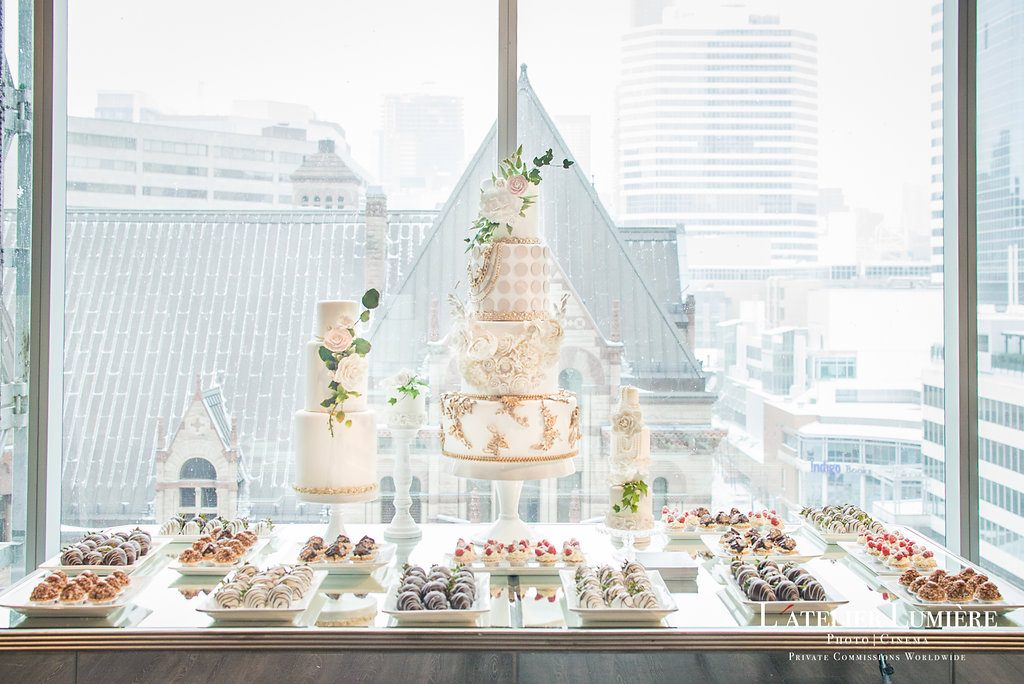 Wedding Academy at Arcadian Loft - Sweets table with Fine Cakes by Zehra