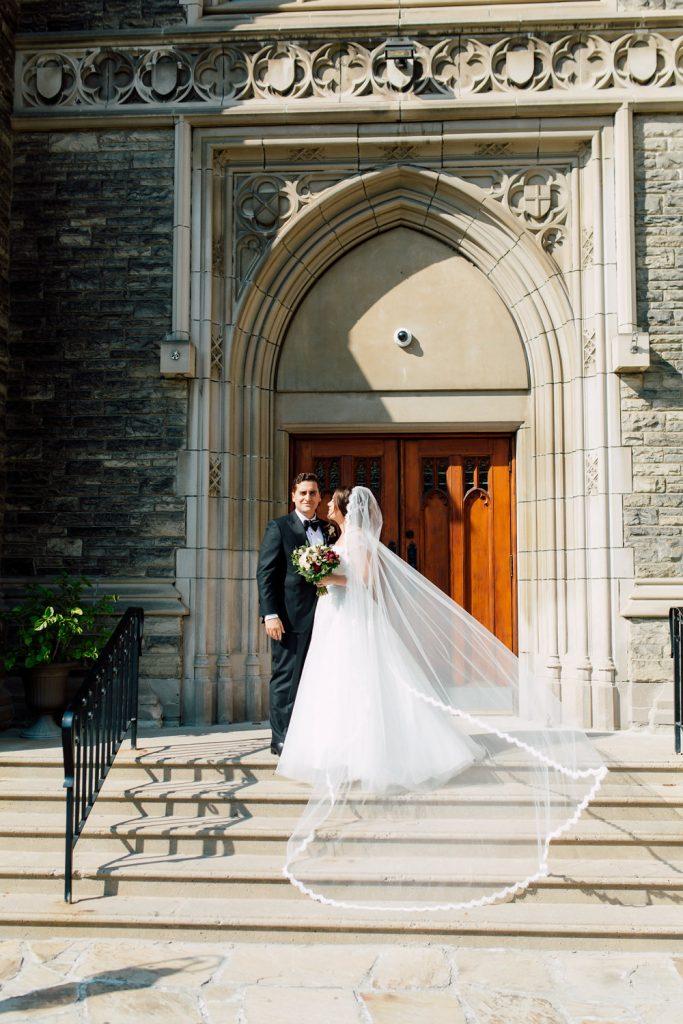 Elegant fall wedding at Liberty Grand