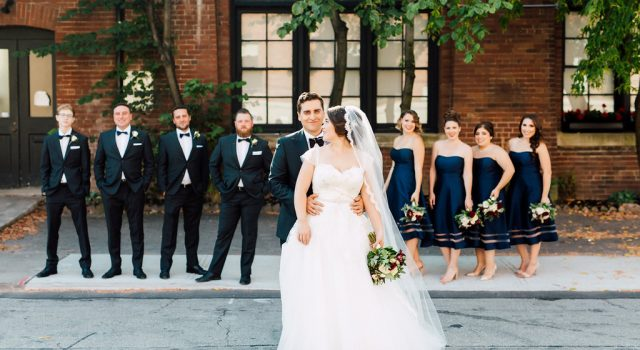 Elegant fall wedding at Liberty Grand