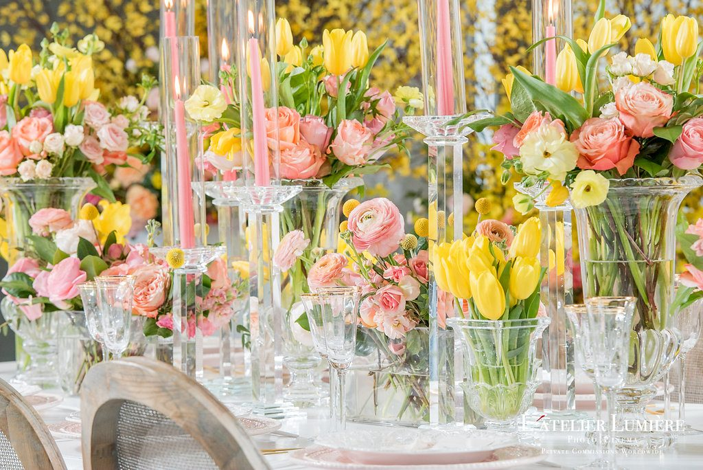 Wedding Academy at Arcadian Loft - spring floral inspiration from Rachel A. Clingen Wedding and Event Design