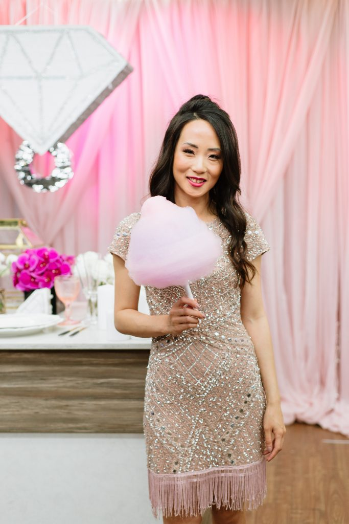 Cotton candy station - Hottest wedding trends right now from Breakfast Television Toronto, with wedding planner Rebecca Chan Weddings and Events