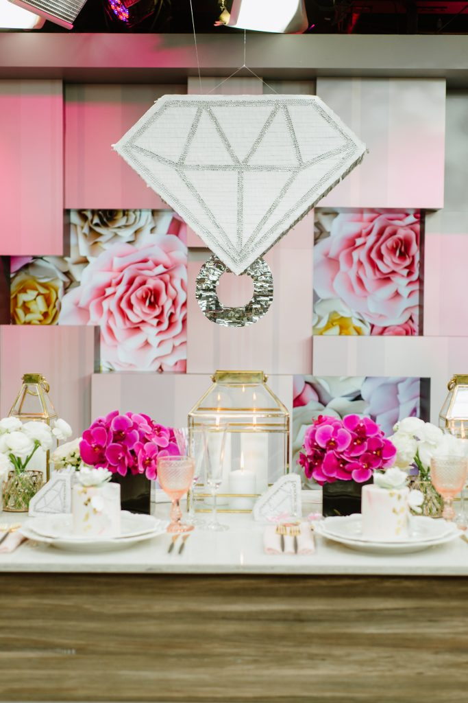 Big ass diamond pinata - Hottest wedding trends right now from Breakfast Television Toronto, with wedding planner Rebecca Chan Weddings and Events