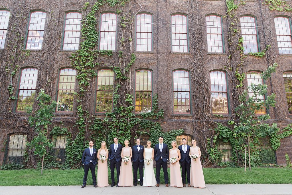 Toronto wedding photography ideas with bridal party
