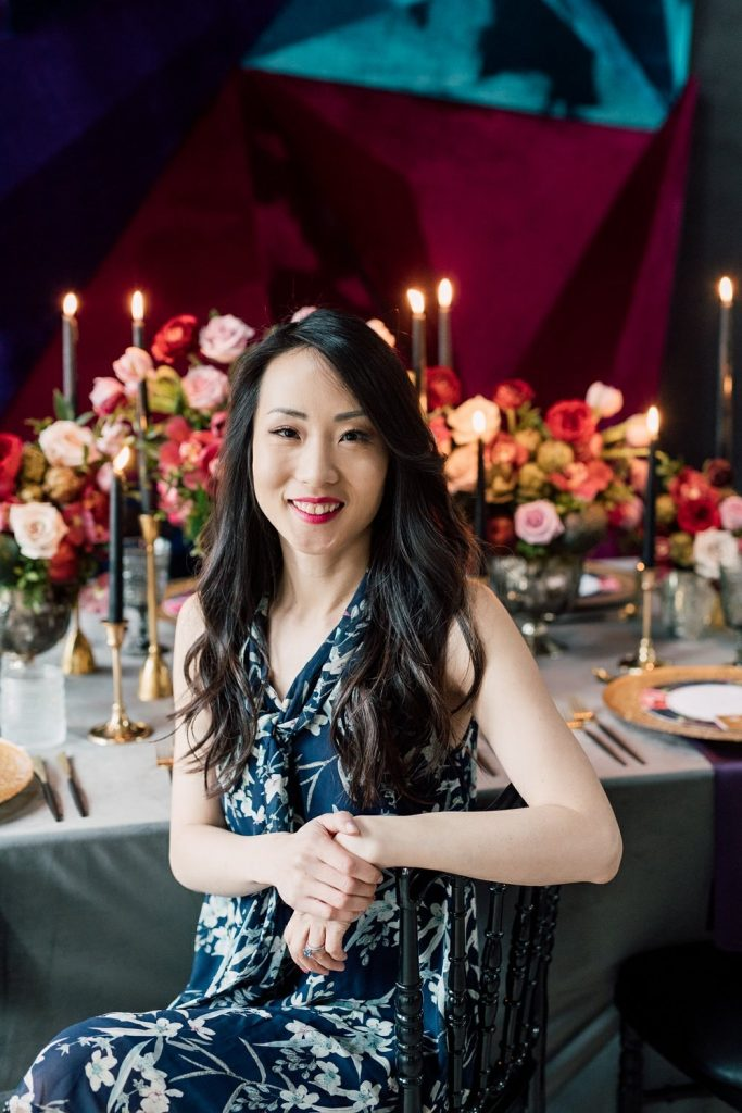 Today's Bride magazine with wedding planner Rebecca Chan