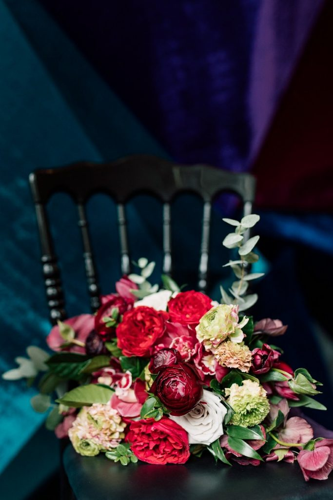 Moody and Dramatic Styled shoot for Today's Bride, Styled by Rebecca Chan Weddings and Events
