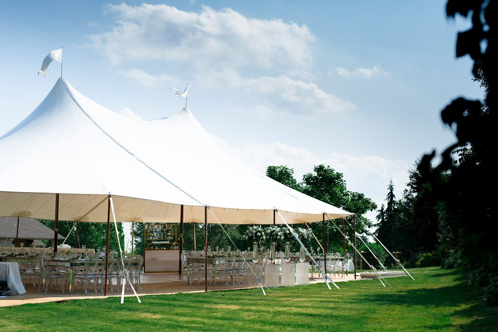 Beautiful tent wedding Toronto