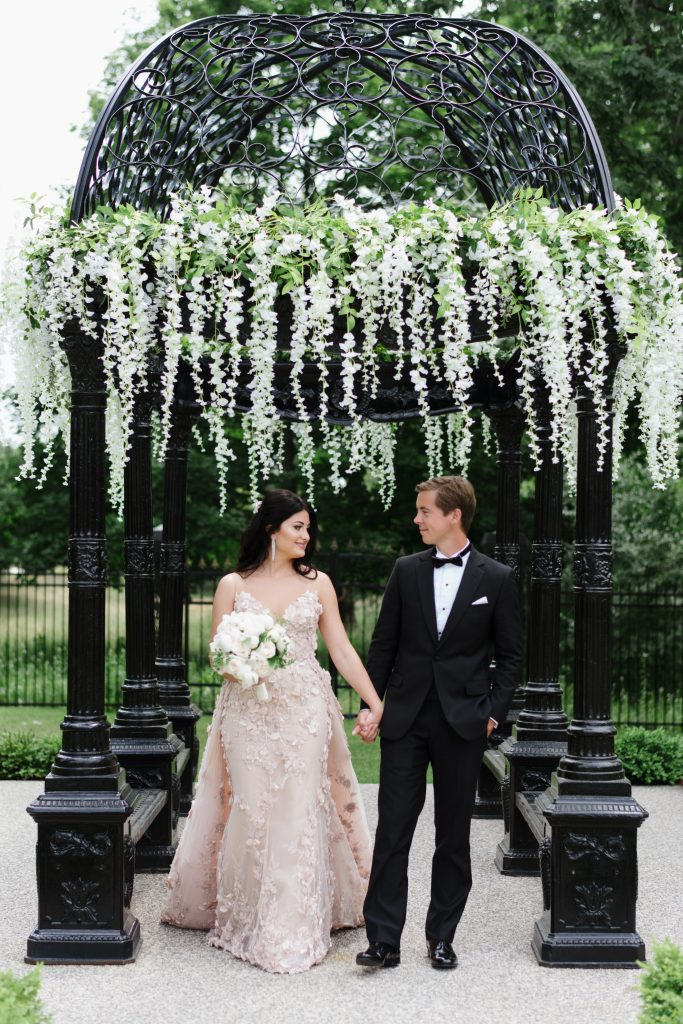 Royal Wedding Inspired Garden Wedding