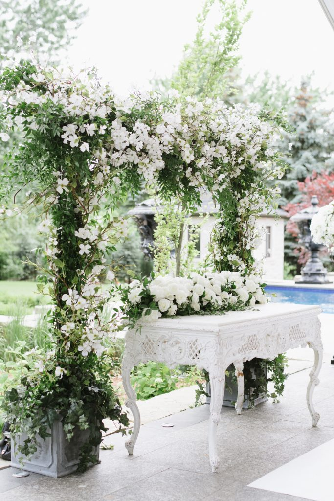 Royal Wedding Inspired Garden Wedding Ceremony