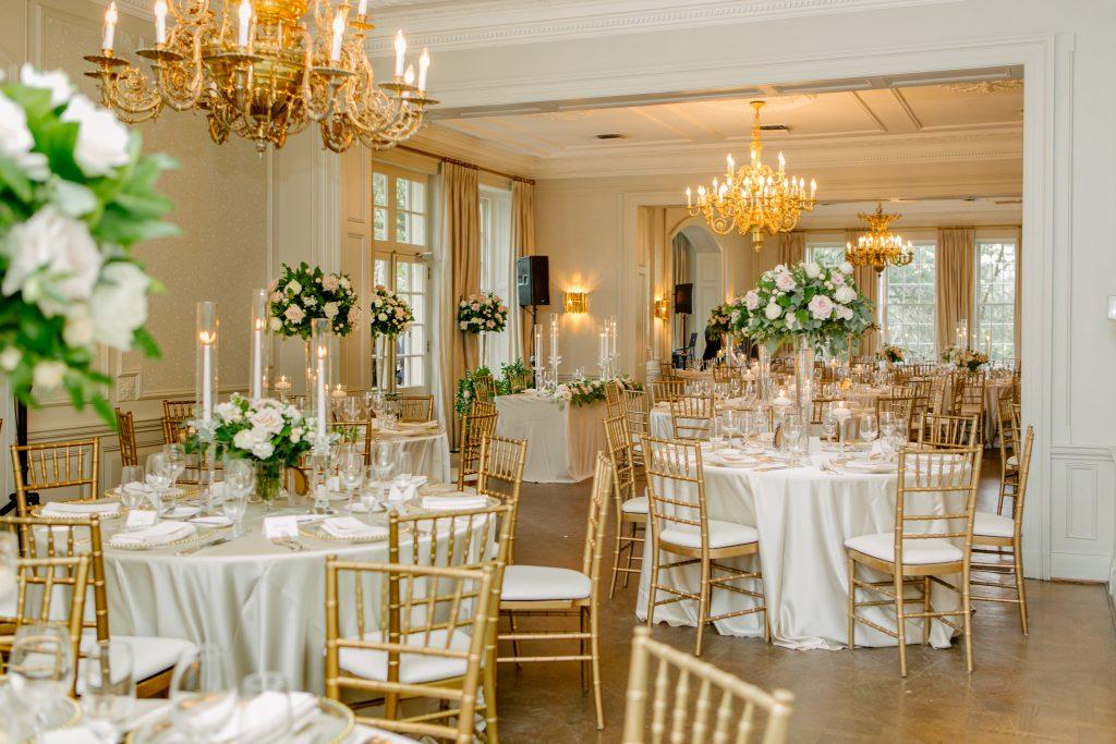 Elegant Garden Wedding at Graydon Hall Manor
