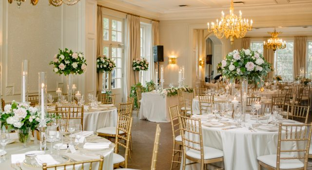 Elegant Garden Wedding at Graydon Hall Manor