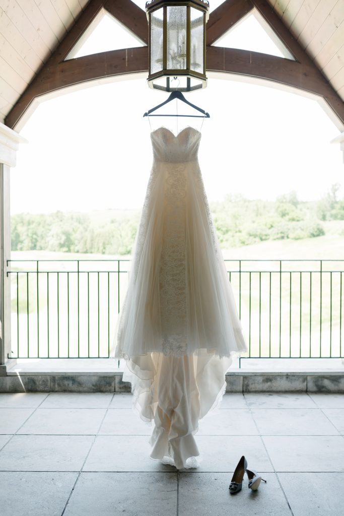 Luxurious blush garden wedding at Eagles Nest Golf Course