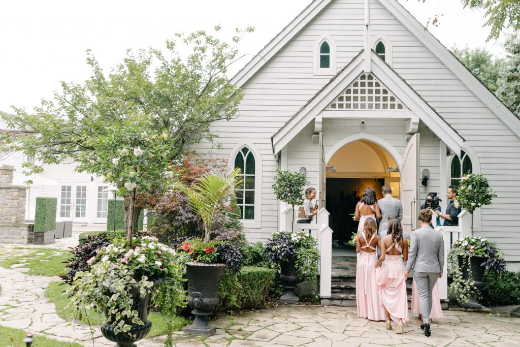 Epic Coachella Inspired Wedding Ceremony at Doctor's House