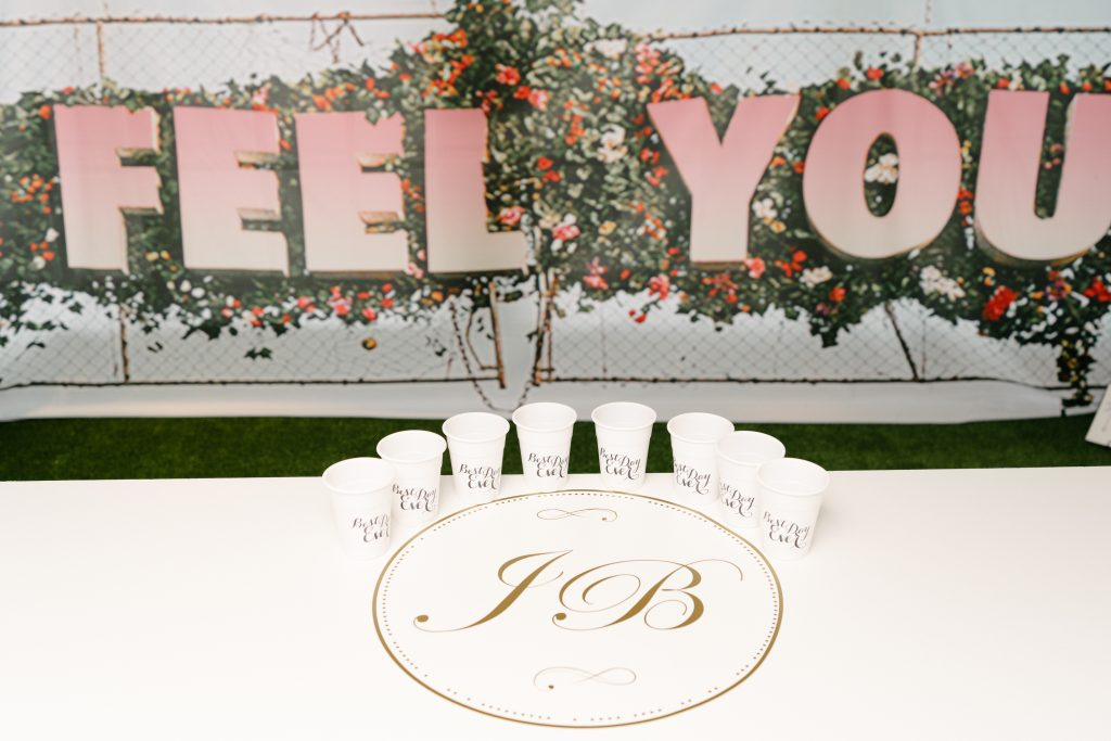 Beer Pong - Epic Coachella Inspired Wedding Reception at Doctor's House