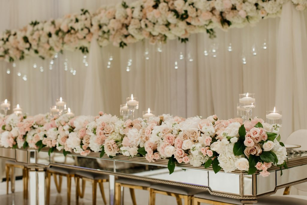 Romantic Blush and Gold Luxury Wedding