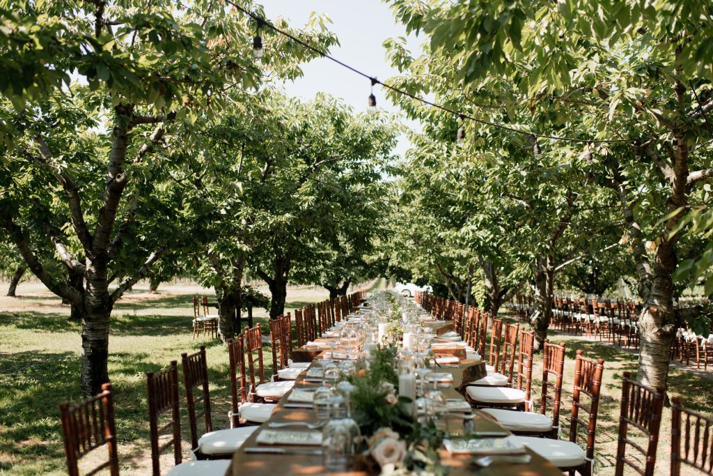 Outdoor Rustic Boho-Chic Wedding at Kurtz Orchards Farm