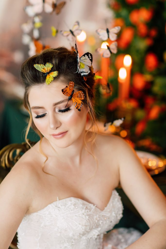 Butterfly Enchanted Garden Wedding Styled Shoot ⋆ Rebecca