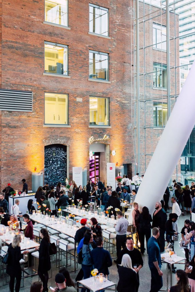 Eventsource's Industry Bash at Ricarda's Atrium in Toronto