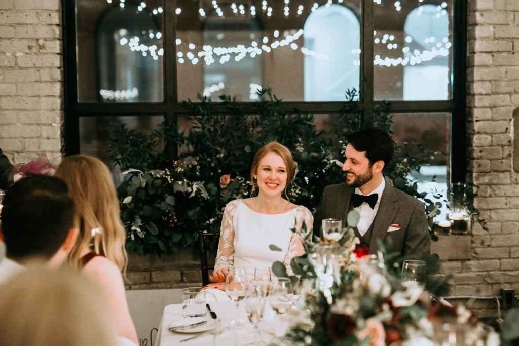 Storys building rustic and romantic wedding reception