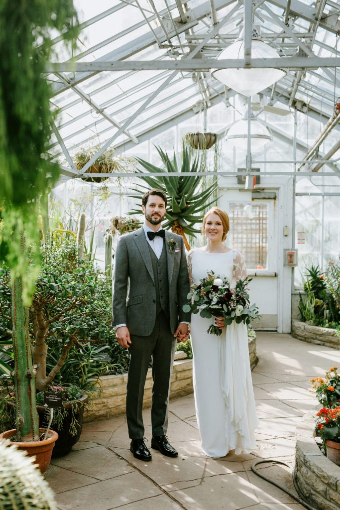 Allan Gardens wedding photos