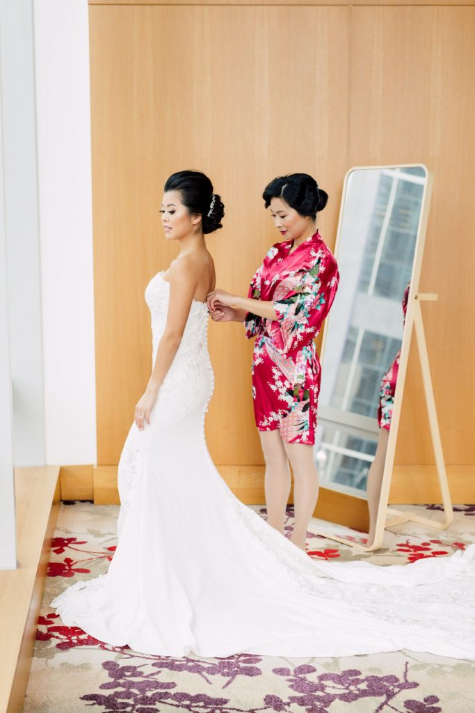 Shangri-La Wedding Preparation