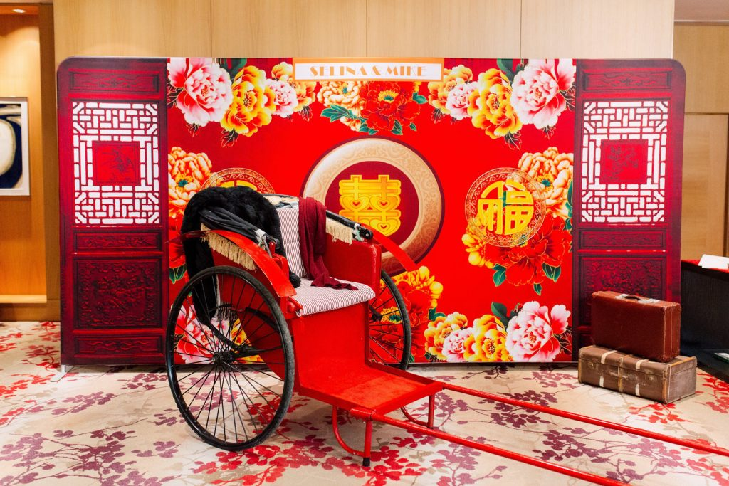 Chinese photobooth backdrop