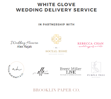 White Glove Wedding Delivery Service Partners