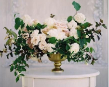 Medium ceremony floral arrangement