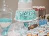 Tiffany inspired wedding sweets table. Rebecca Chan Weddings and Events www.rebeccachan.ca