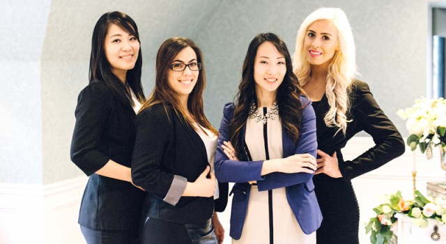 Rebecca Chan Weddings and Events team