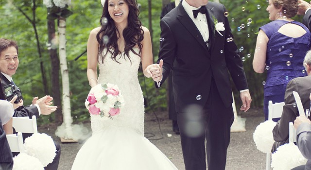DIY Handmade wedding - recessional