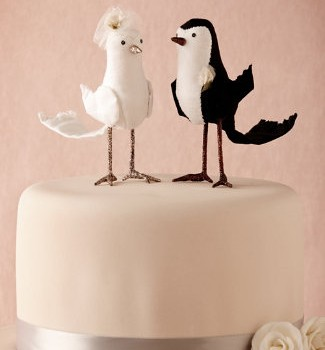 Prettiest pair cake topper
