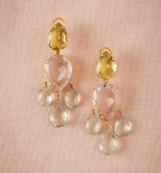 BHLDN vintage earrings
