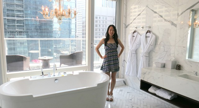 Luxury staycation at Shangri-La Hotel Toronto - Owner's Suite