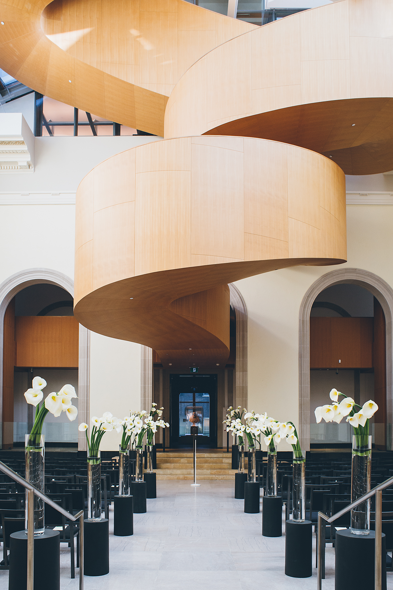Modern AGO Art Gallery of Ontario wedding