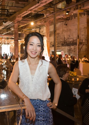 Rebecca Chan wedding planner at the Distillery Events Open House