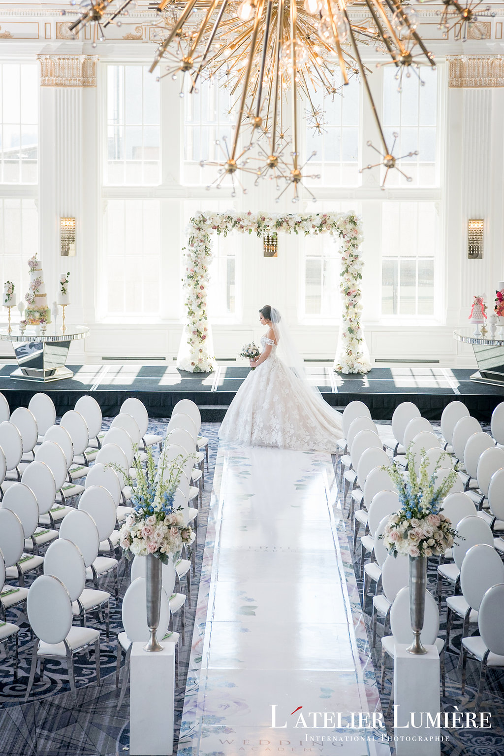 Wedding Academy at the Omni King Edward Hotel - Classic elegance wedding inspiration and a gown from Ines Di Santo