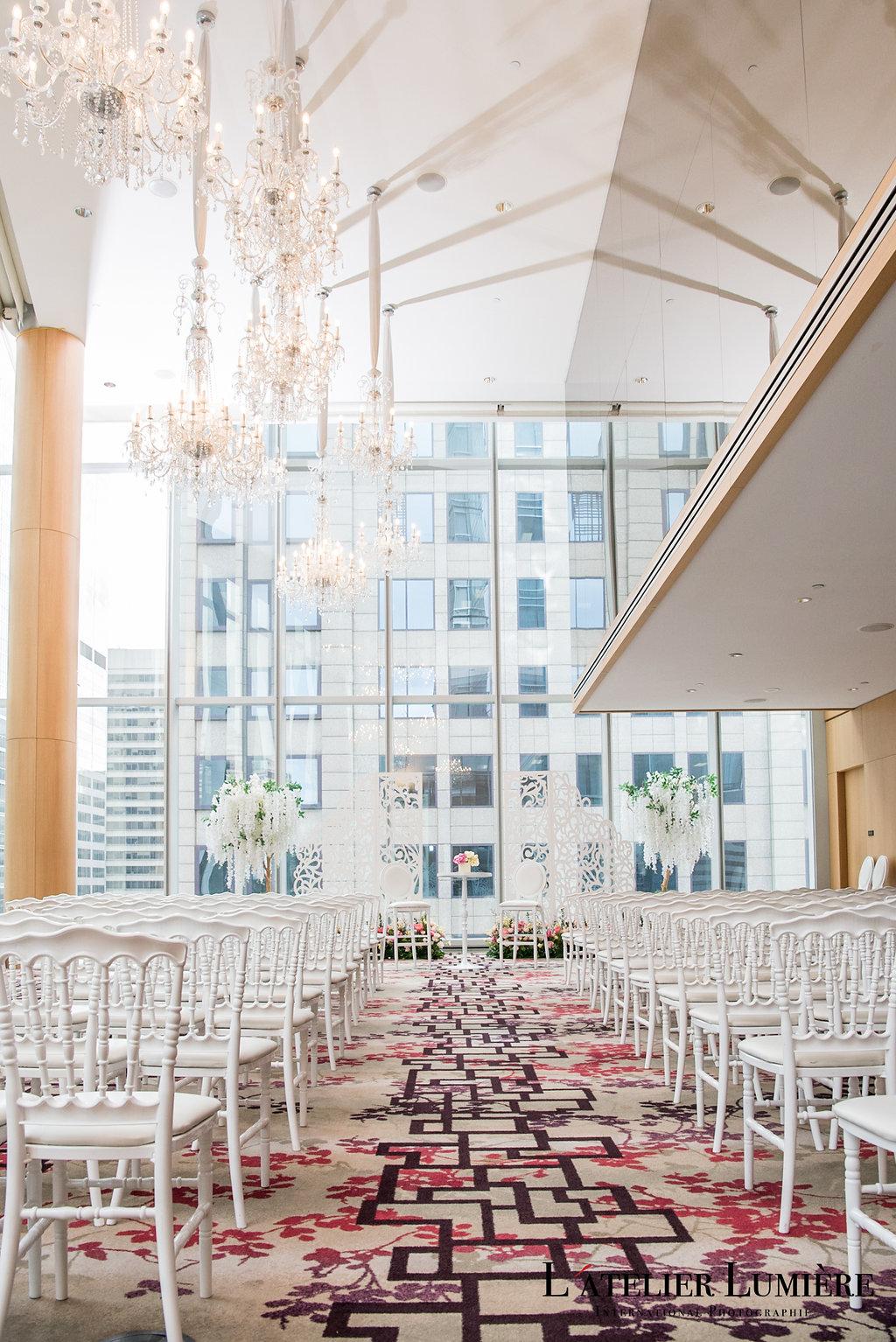 Wedding Academy at Shangri-La Hotel Toronto on February 18 2018 - Spring decor inspiration